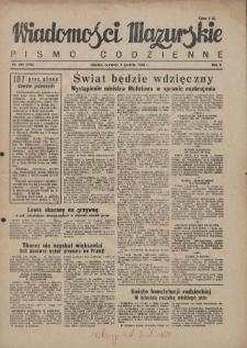 Wiadomości Mazurskie : pismo codzienne. 1946 (R. 2), nr 281 (292)