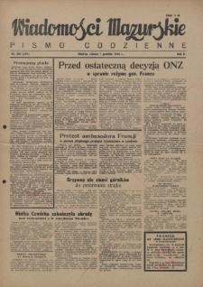 Wiadomości Mazurskie : pismo codzienne. 1946 (R. 2), nr 283 (284)