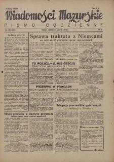 Wiadomości Mazurskie : pismo codzienne. 1946 (R. 2), nr 284 (295)