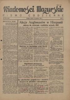 Wiadomości Mazurskie : pismo codzienne. 1946 (R. 2), nr 294 (305)