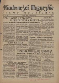 Wiadomości Mazurskie : pismo codzienne. 1946 (R. 2), nr 295 (306)