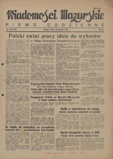 Wiadomości Mazurskie : pismo codzienne. 1946 (R. 2), nr 298 (309)