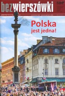 Bez Wierszówki, 2015, nr 9-10