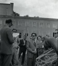 [Uroczyste odczytanie aktu erekcyjnego przy pomniku Rocha w Mrągowie 1969]