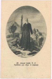 Bł. Antoni Ixida T.J. : spalony 3/9 1632 w Japonii