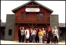 [Wycieczka bibliotekarzy do Miasteczka Westernowego Mrongoville 2008]