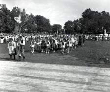 Powiatowe dożynki Mrągowo 1965. [4]