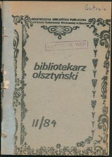 Bibliotekarz Olsztyński, 1984, nr 2