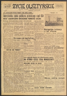Życie Olsztyńskie : pismo ziemi warmińsko-mazurskiej, 1949, nr 37