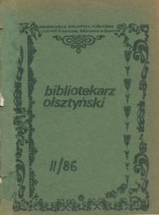 Bibliotekarz Olsztyński, 1986, nr 2