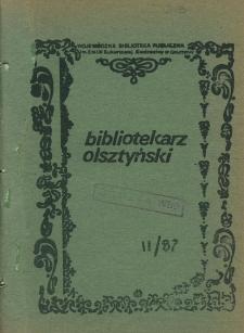 Bibliotekarz Olsztyński, 1987, nr 2