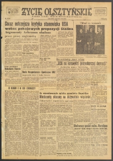 Życie Olsztyńskie : pismo ziemi warmińsko-mazurskiej, 1949, nr 40