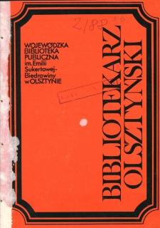 Bibliotekarz Olsztyński, 1988, nr 2