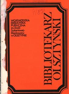 Bibliotekarz Olsztyński, 1988, nr 4