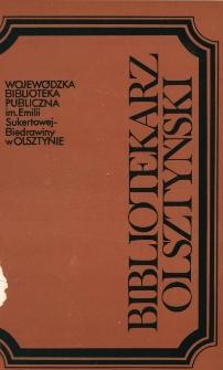 Bibliotekarz Olsztyński, 1989, nr 4