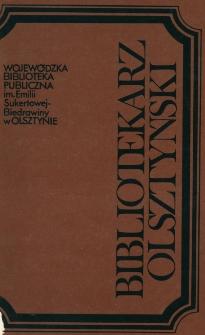 Bibliotekarz Olsztyński, 1990, nr 3-4
