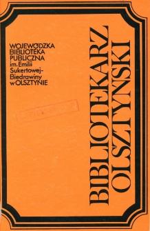 Bibliotekarz Olsztyński, 1992, nr 3-4