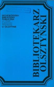 Bibliotekarz Olsztyński, 1993, nr 1-2