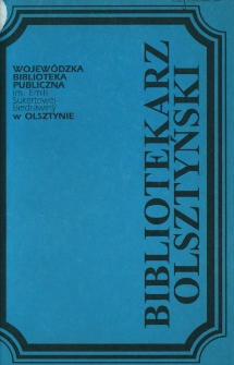 Bibliotekarz Olsztyński, 1993, nr 3-4