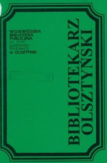 Bibliotekarz Olsztyński, 1995, nr 3-4