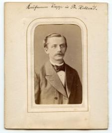 [Fotografia portretowa kupca Krupp z Pr. Holland]