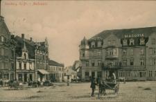 Sensburg, O. - Pr. - Marktplatz