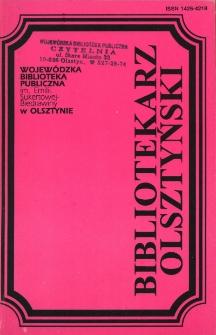 Bibliotekarz Olsztyński, 1996, nr 1-2