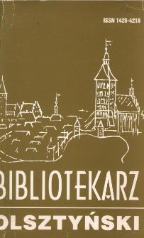 Bibliotekarz Olsztyński, 1996, nr 3-4