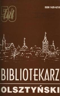 Bibliotekarz Olsztyński, 1996, wydanie jubileuszowe