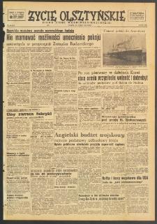 Życie Olsztyńskie : pismo ziemi warmińsko-mazurskiej, 1949, nr 48