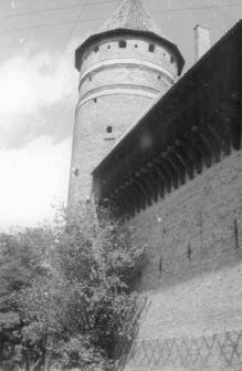 [Wieża zamku w Olsztynie]