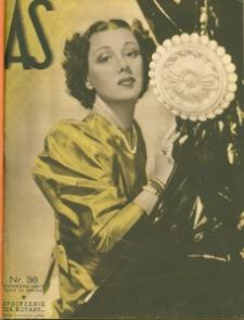 As : ilustrowany magazyn tygodniowy, 1936 (R. 2), nr 36