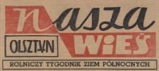 Nasza Wieś : rolniczy tygodnik Ziem Północnych, 1964 (R. 5), nr 3