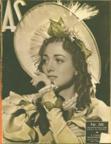 As : ilustrowany magazyn tygodniowy, 1936 (R. 2), nr 38
