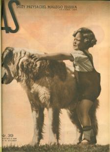 As : ilustrowany magazyn tygodniowy, 1936 (R. 2), nr 39
