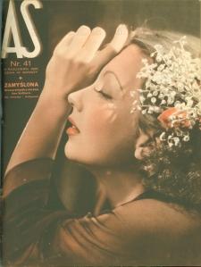 As : ilustrowany magazyn tygodniowy, 1936 (R. 2), nr 41
