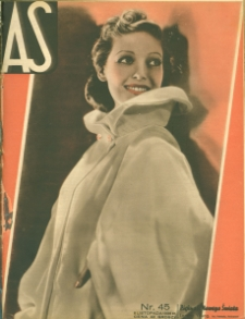 As : ilustrowany magazyn tygodniowy, 1936 (R. 2), nr 45