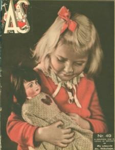 As : ilustrowany magazyn tygodniowy, 1936 (R. 2), nr 49