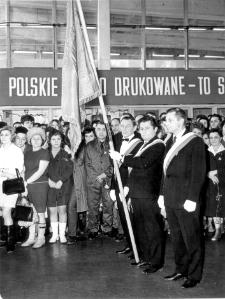 [Uroczystość otwarcia nowej siedziby Olsztyńskich Zakładów Graficznych. 1]