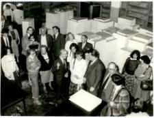 [Zwiedzanie drukarni Olsztyńskich Zakładów Graficznych w ramach obchodów 100-lecia Gazety Olsztyńskiej]