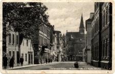 Osterode/Ostpr. - Wasserstrasse mit Kath. Kirche