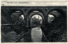 Allenstein, O.- Pr. - Eisenbahnbrücken