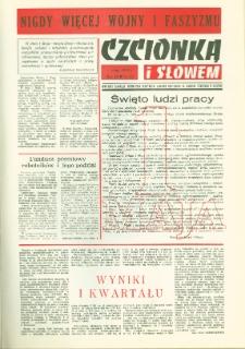 Czcionką i Słowem : kwartalnik samorządu robotniczego Olsztyńskich Zakładów Graficznych im. Seweryna Pieniężnego w Olsztynie, 1979 (R. 9), nr 33