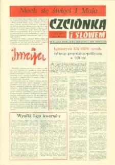 Czcionką i Słowem : kwartalnik samorządu robotniczego Olsztyńskich Zakładów Graficznych im. Seweryna Pieniężnego w Olsztynie, 1980 (R. 10), nr 39