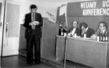 [Konferencja sprawozdawczo-wyborcza rady zakładowej Olsztyńskich Zakładów Graficznych. 4]