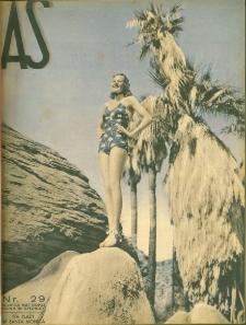 As : ilustrowany magazyn tygodniowy, 1937 (R. 3), nr 29
