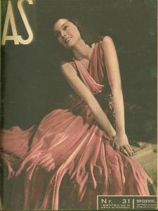 As : ilustrowany magazyn tygodniowy, 1937 (R. 3), nr 31