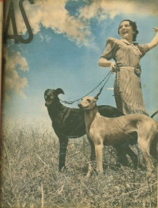 As : ilustrowany magazyn tygodniowy, 1937 (R. 3), nr 32