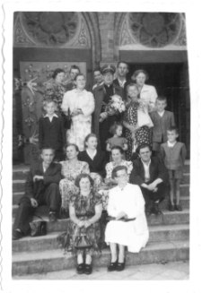 [Członkowie chóru parafialnego przy kościele garnizonowym w Olsztynie. 3]