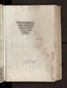 Super usibus feudorum et commentum super pace Constantiae, cum additionibus Andreae Barbatii et cum Tabula Ambrosii Tersagi